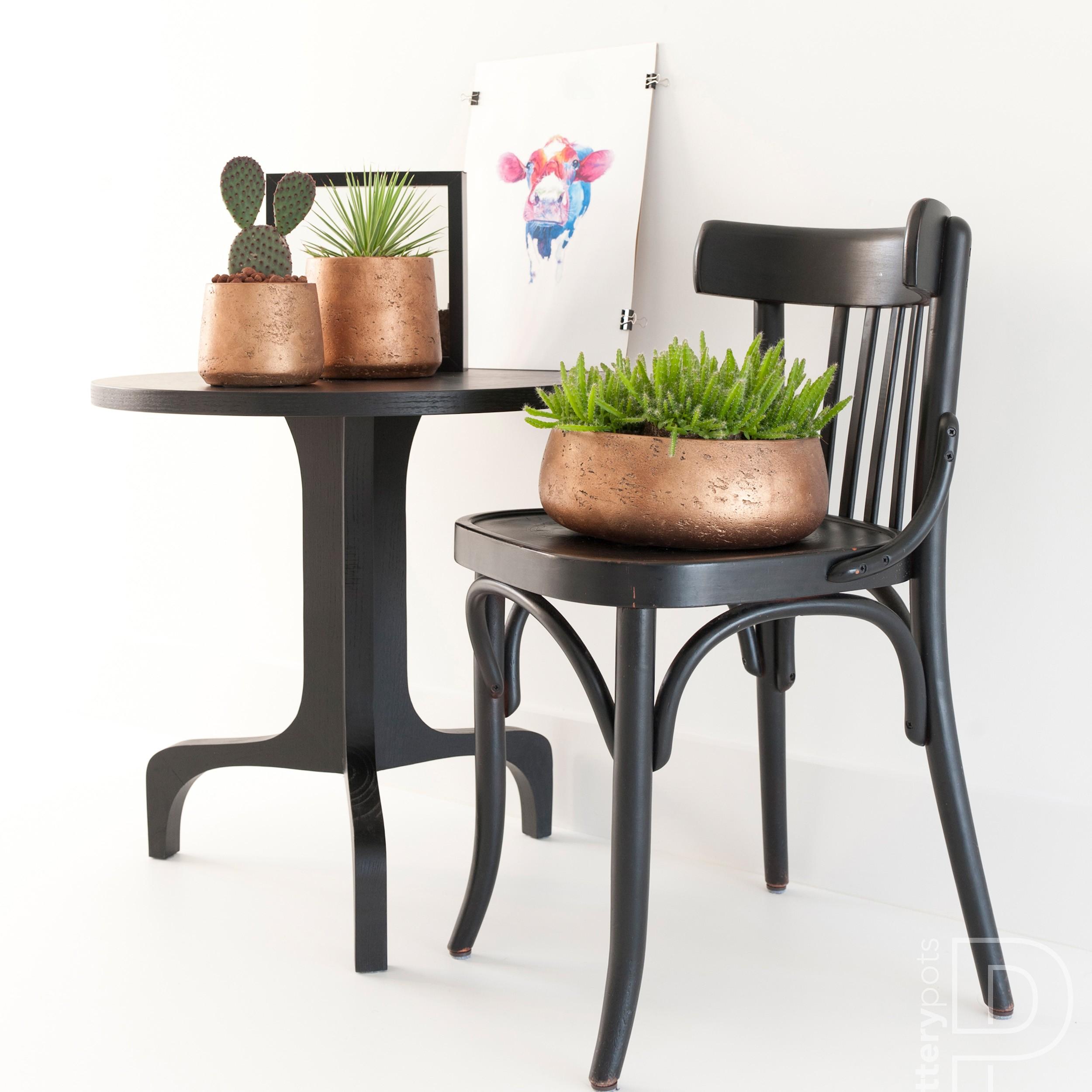 Pot de fleurs impasse Ø 15 cm Béton Optique Chambre plantes cache-pot de ciment