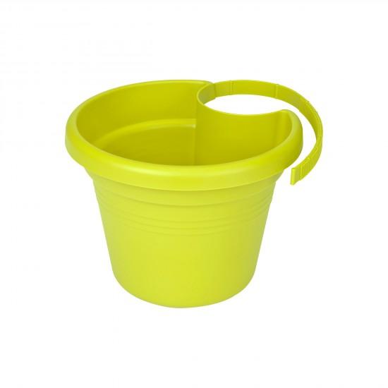 elho_green_basics_regenrohrpflanzgefaess_23cm_limegruen