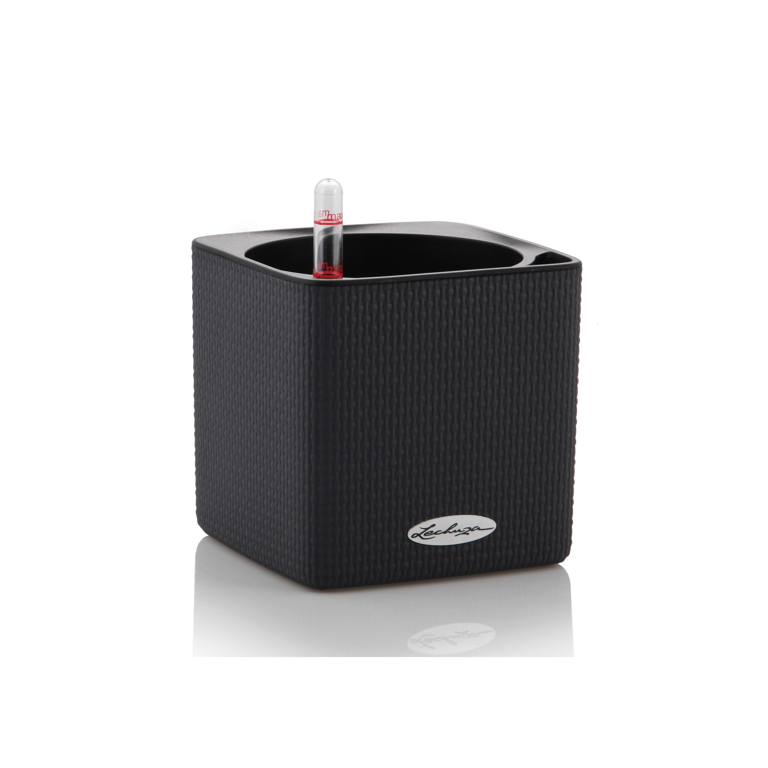 blumentopf cube color l14cm. Black Bedroom Furniture Sets. Home Design Ideas