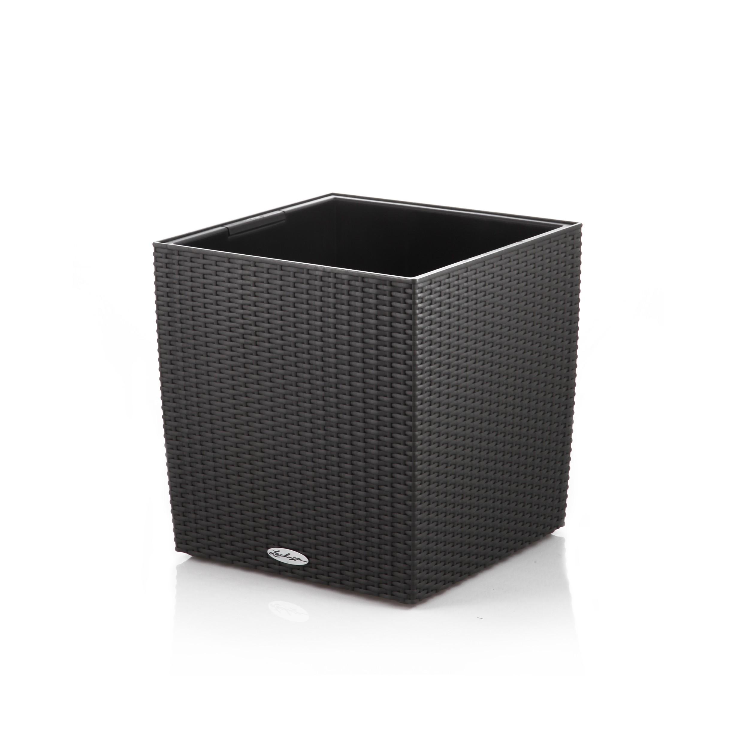 lechuza cube cottage 30 komplett set pflanzgef. Black Bedroom Furniture Sets. Home Design Ideas