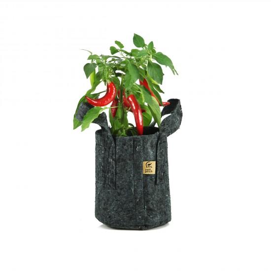 root-pouch-pflanztasche-3-8liter-grau-mit-griffen-chili