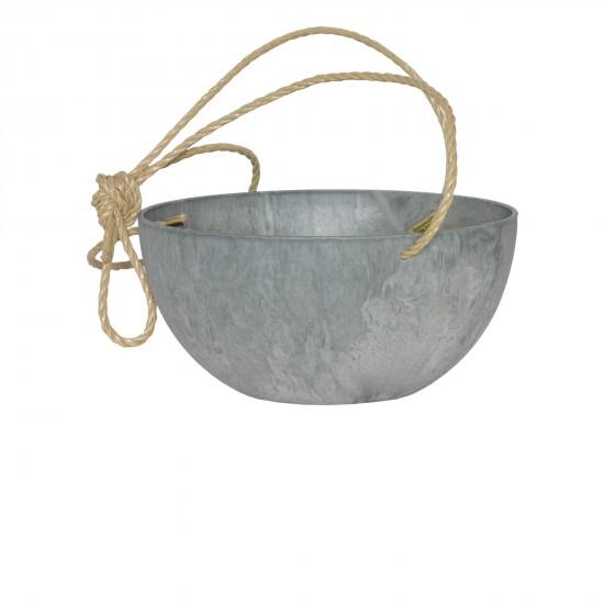 artstone-fiona-blumenampel-grau-durchmesser31cm