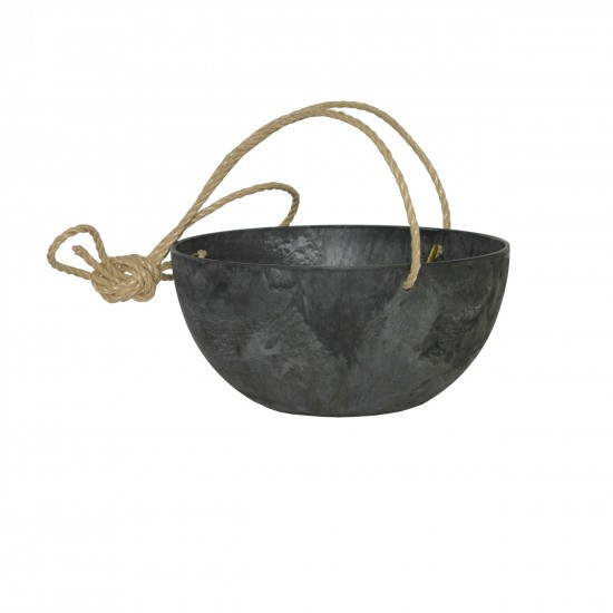 artstone-fiona-blumenampel-schwarz-durchmesser_25cm