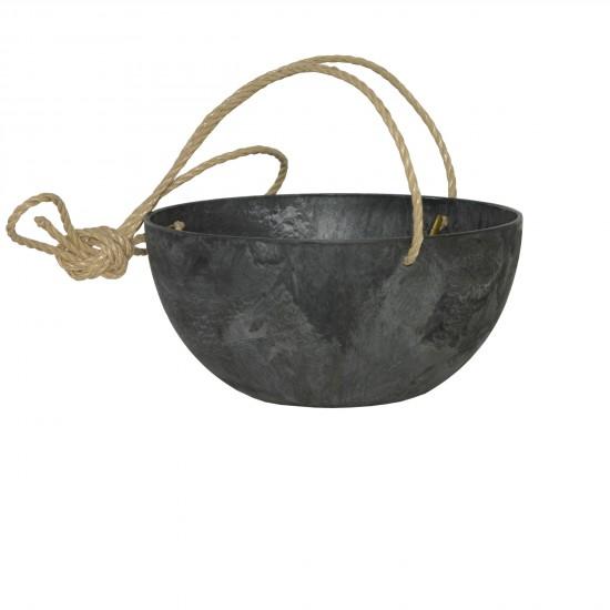 artstone-fiona-blumenampel-schwarz-durchmesser_31cm