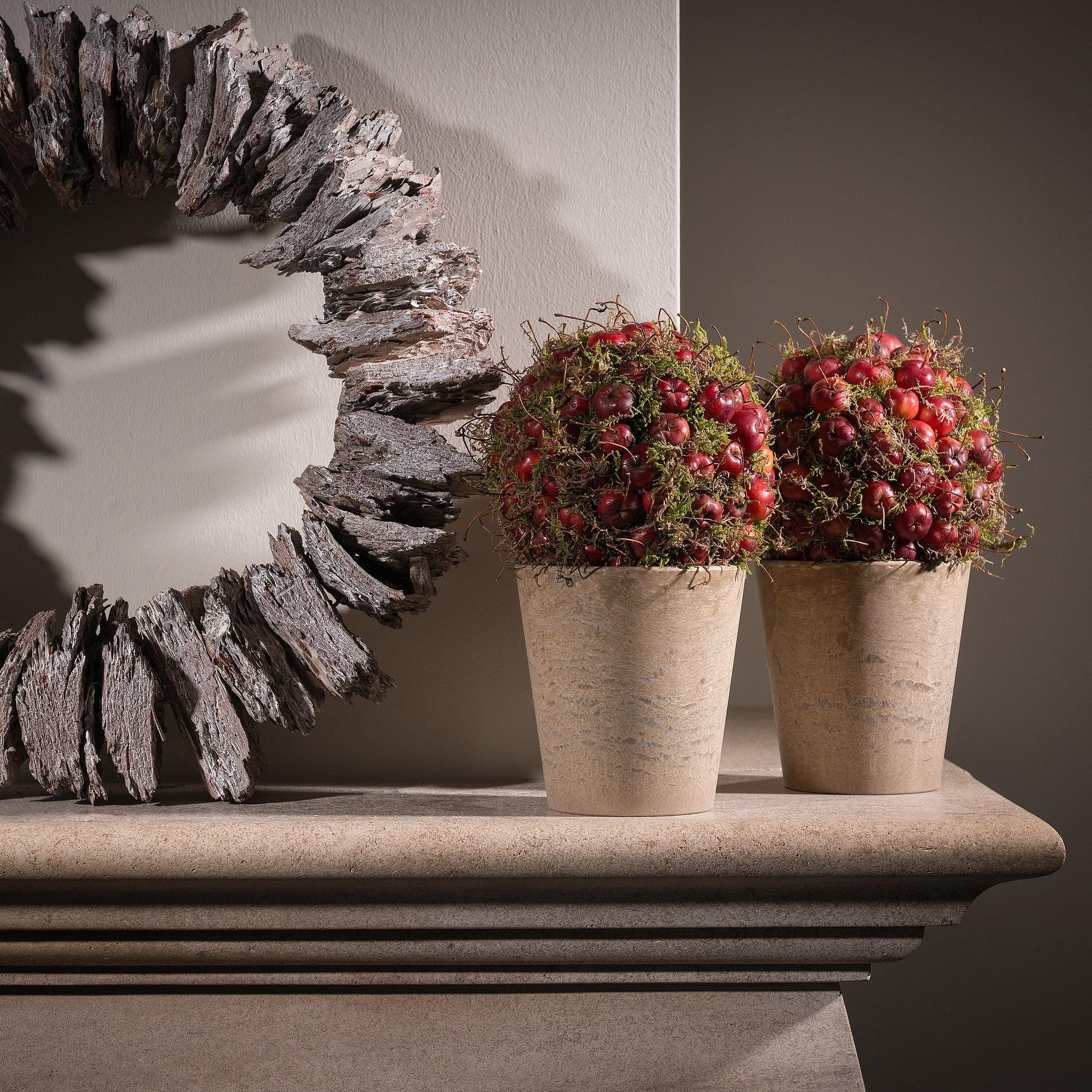 artstone-blumentopf-claire-13cm-taupe-weihnachtdeko Elegantes Blumentopf Durchmesser 50 Cm Dekorationen