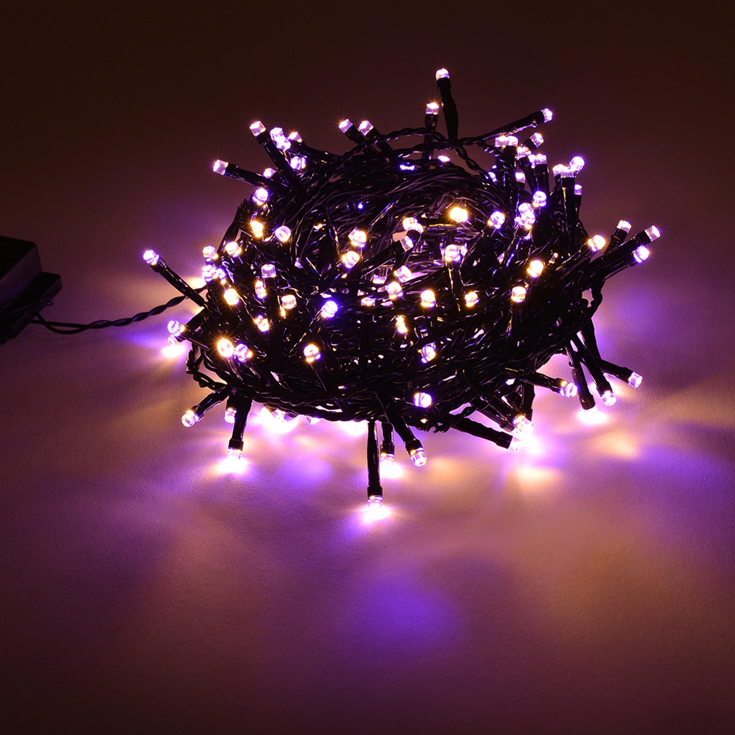 led lichterkette duo chip 1 lichterkette in zwei farben umstellbar weihnachten ebay. Black Bedroom Furniture Sets. Home Design Ideas