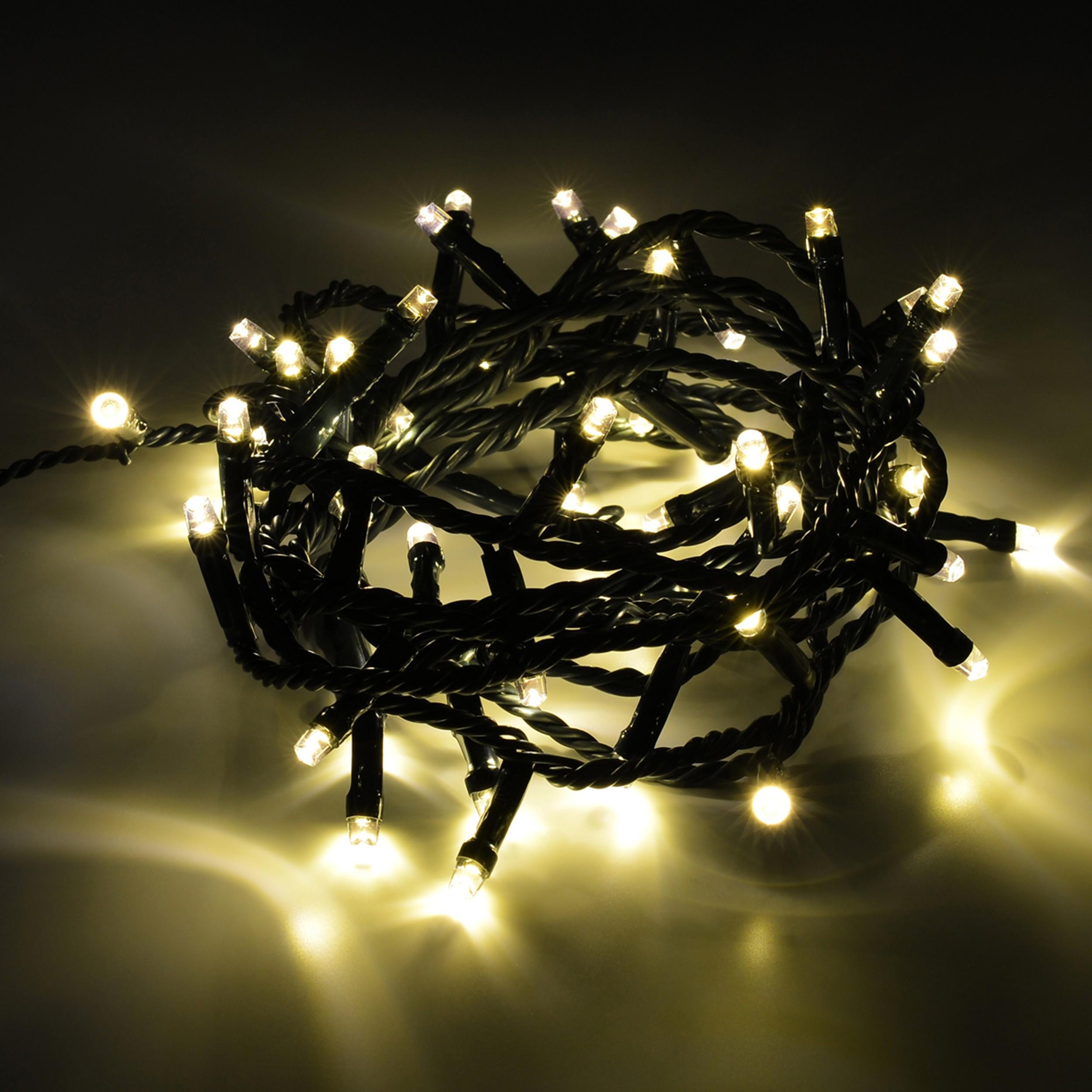 led lichterkette weihnachtsbeleuchtung 40 led outdoor. Black Bedroom Furniture Sets. Home Design Ideas