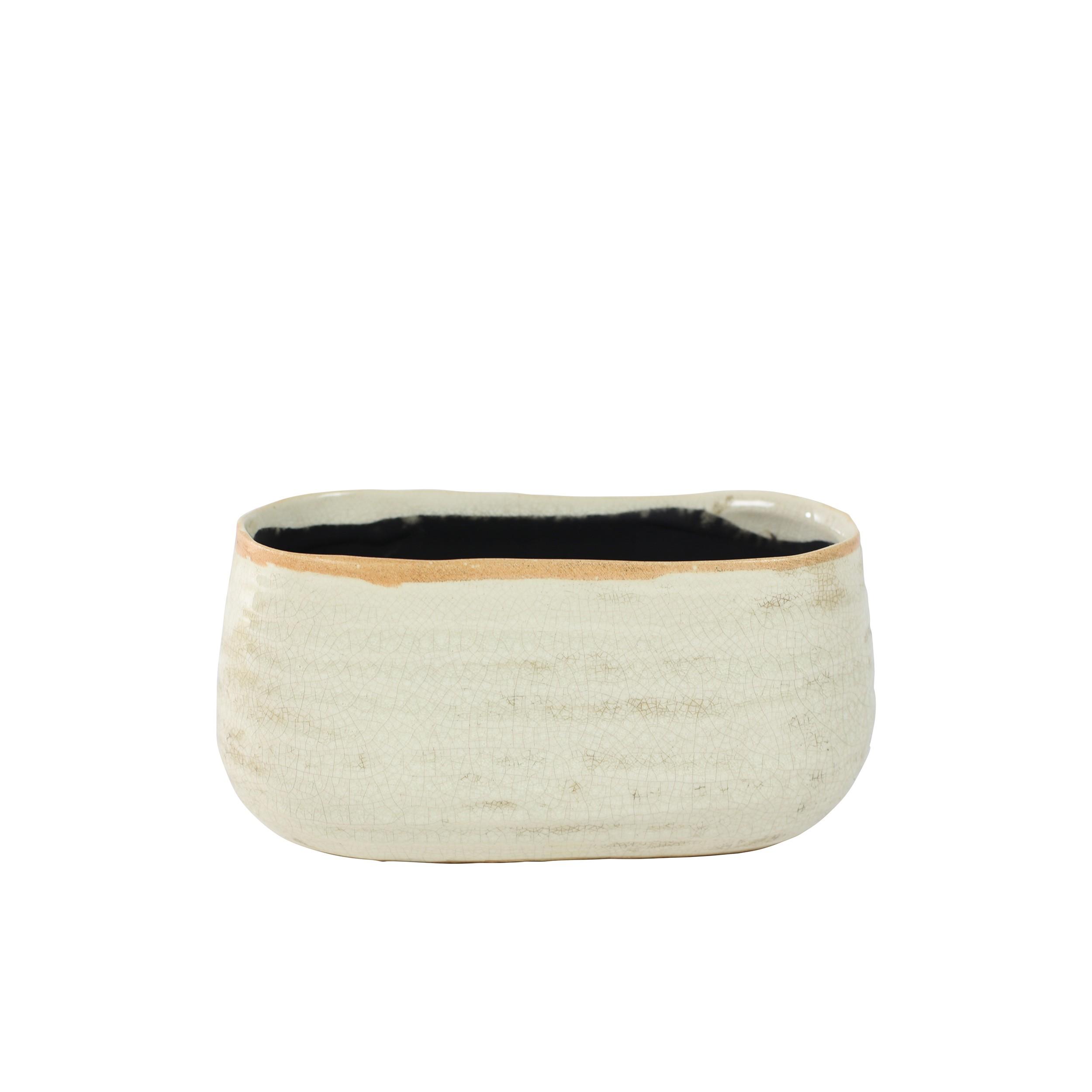 Keramik blumentopf iris l14cm for Blumentopf keramik
