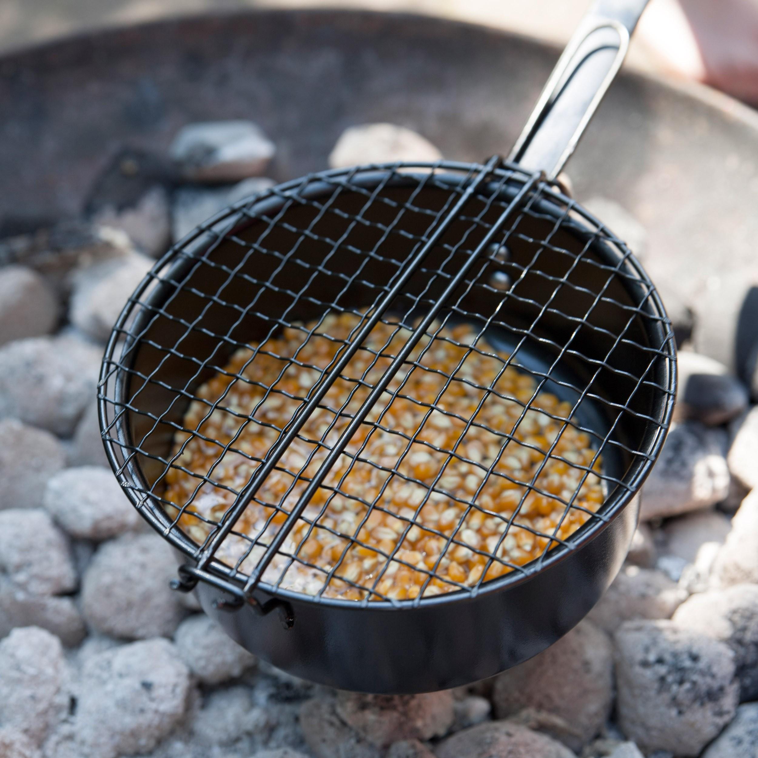 Pfanne Für Grill : popcorn pfanne f r grill und lagerfeuer ~ Orissabook.com Haus und Dekorationen