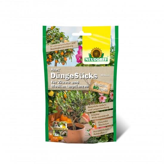 neudorff_azet_duengesticks_zitrus_mediterranpflanzen_40stueck