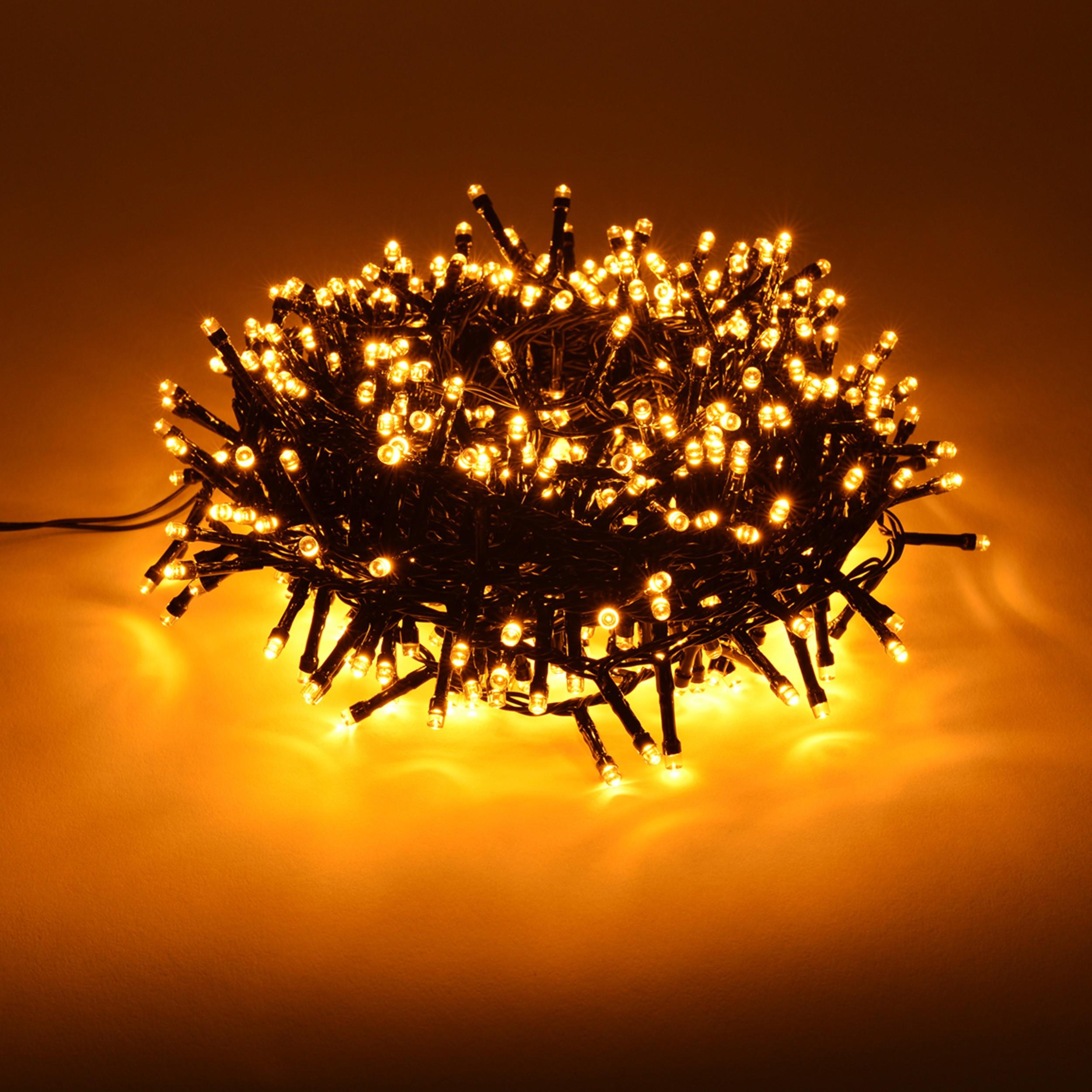 led lichterkette weihnachtsbeleuchtung 800 led outdoor innen au en ebay. Black Bedroom Furniture Sets. Home Design Ideas