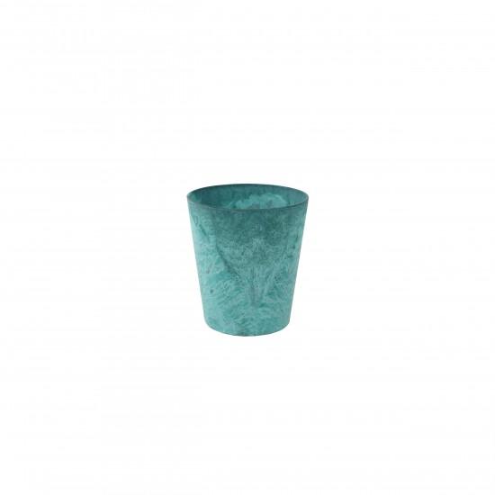 artstone-blumentopf-claire-13cm-azurblau