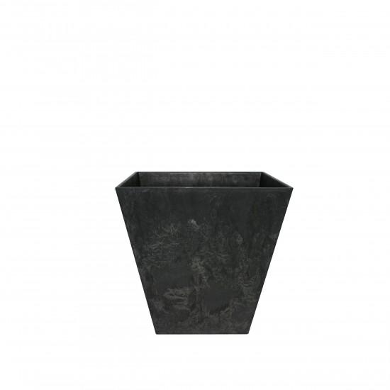 artstone-blumentopf-ella-20cm-schwarz