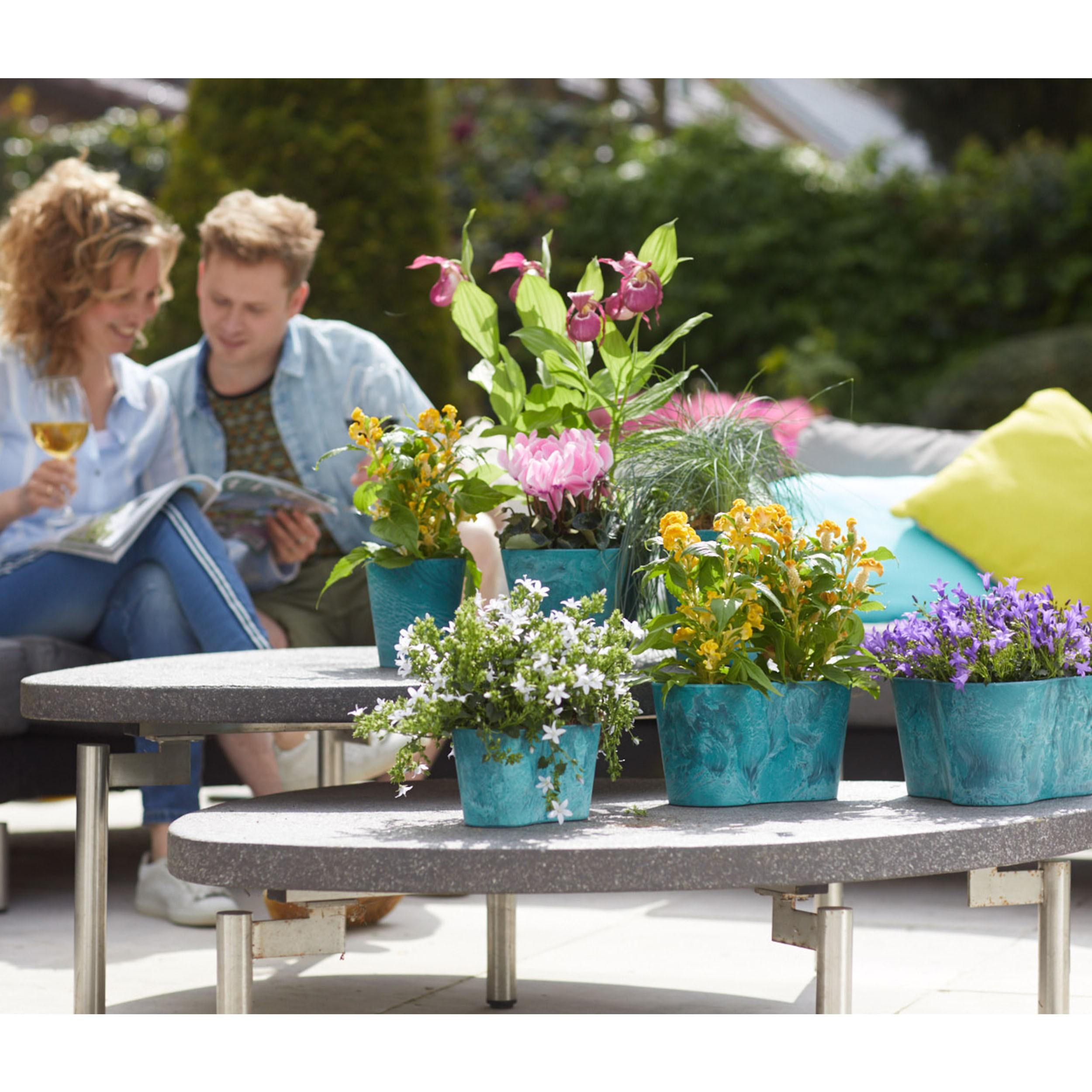 artstone balkonkasten claire blumenkasten pflanzkasten l nge 38cm sch ne farben ebay. Black Bedroom Furniture Sets. Home Design Ideas
