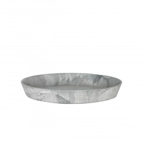 artstone-untersetzer-claire-grau-32cm