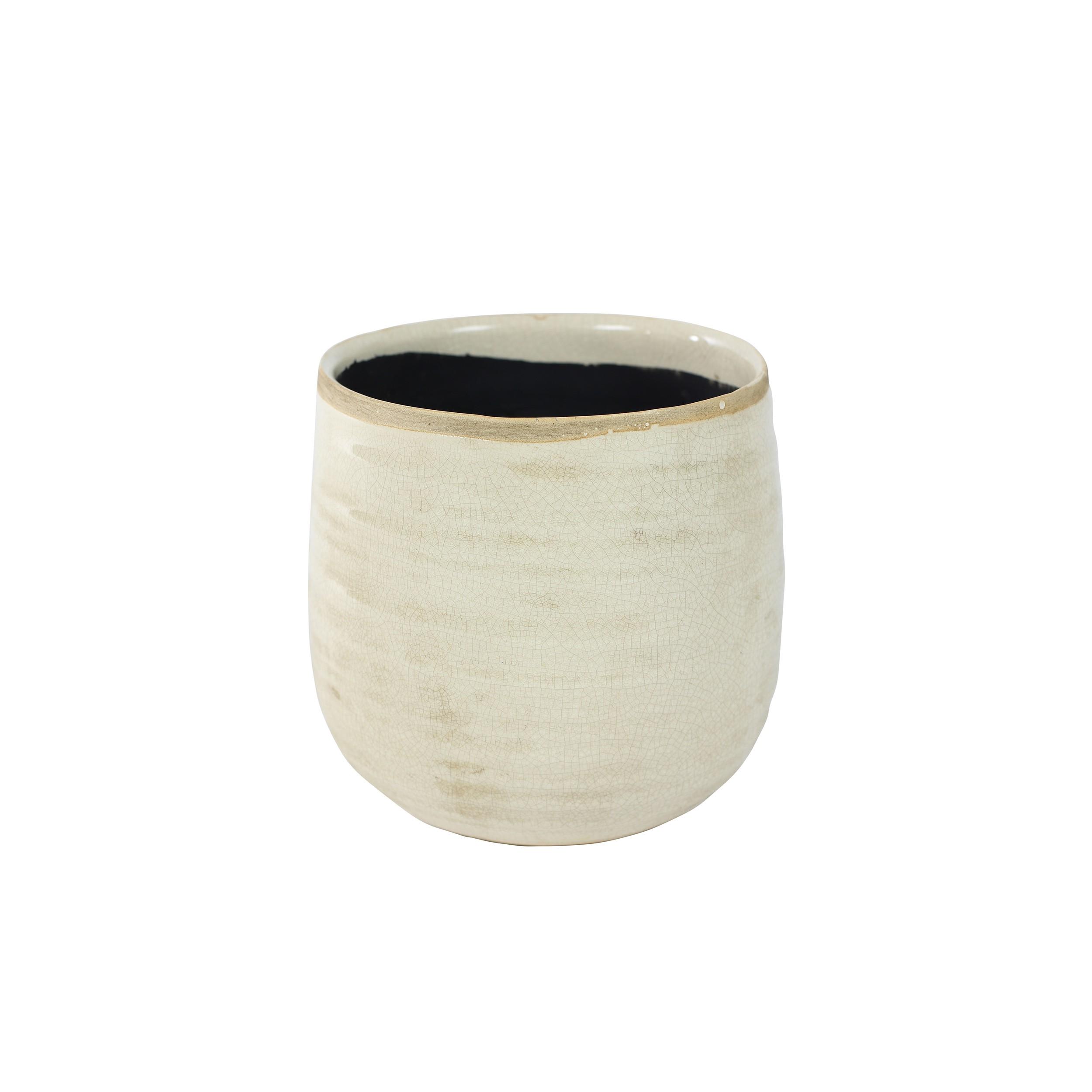 blumentopf keramik 12 5cm iris bertopf pflanztopf glasiert indoor ebay. Black Bedroom Furniture Sets. Home Design Ideas
