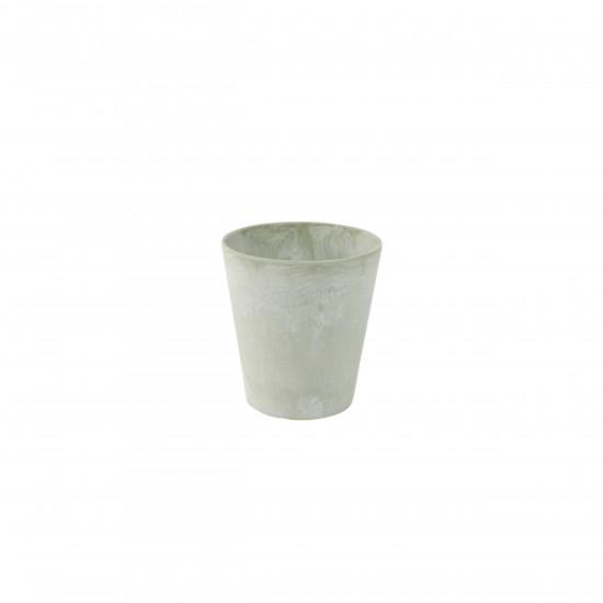 artstone blumentopf claire 13cm eucalyptus