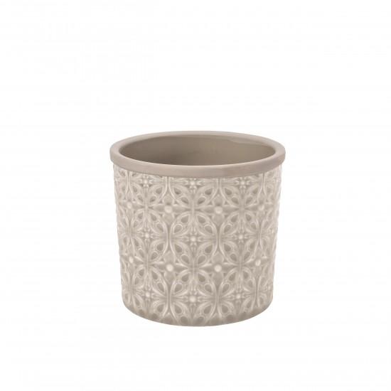 burgon and ball keramik blumentopf porto sand d16cm