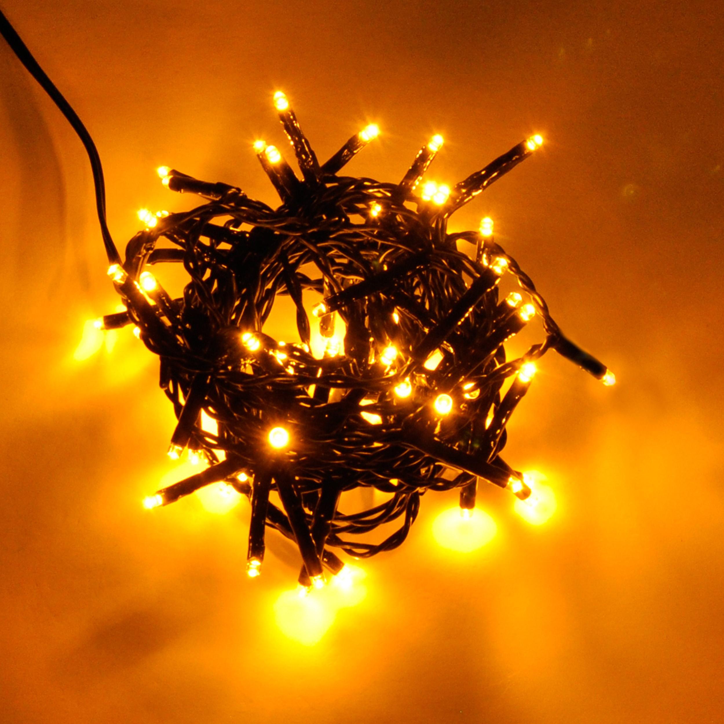 led-batterielichterkette-outdoor-timer-batteriebetrieben-golden-warmweiss Spannende Led Lichterketten Mit Batterie Dekorationen