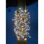 Led cluster lichterkette funkelnde Eiskristalle 1