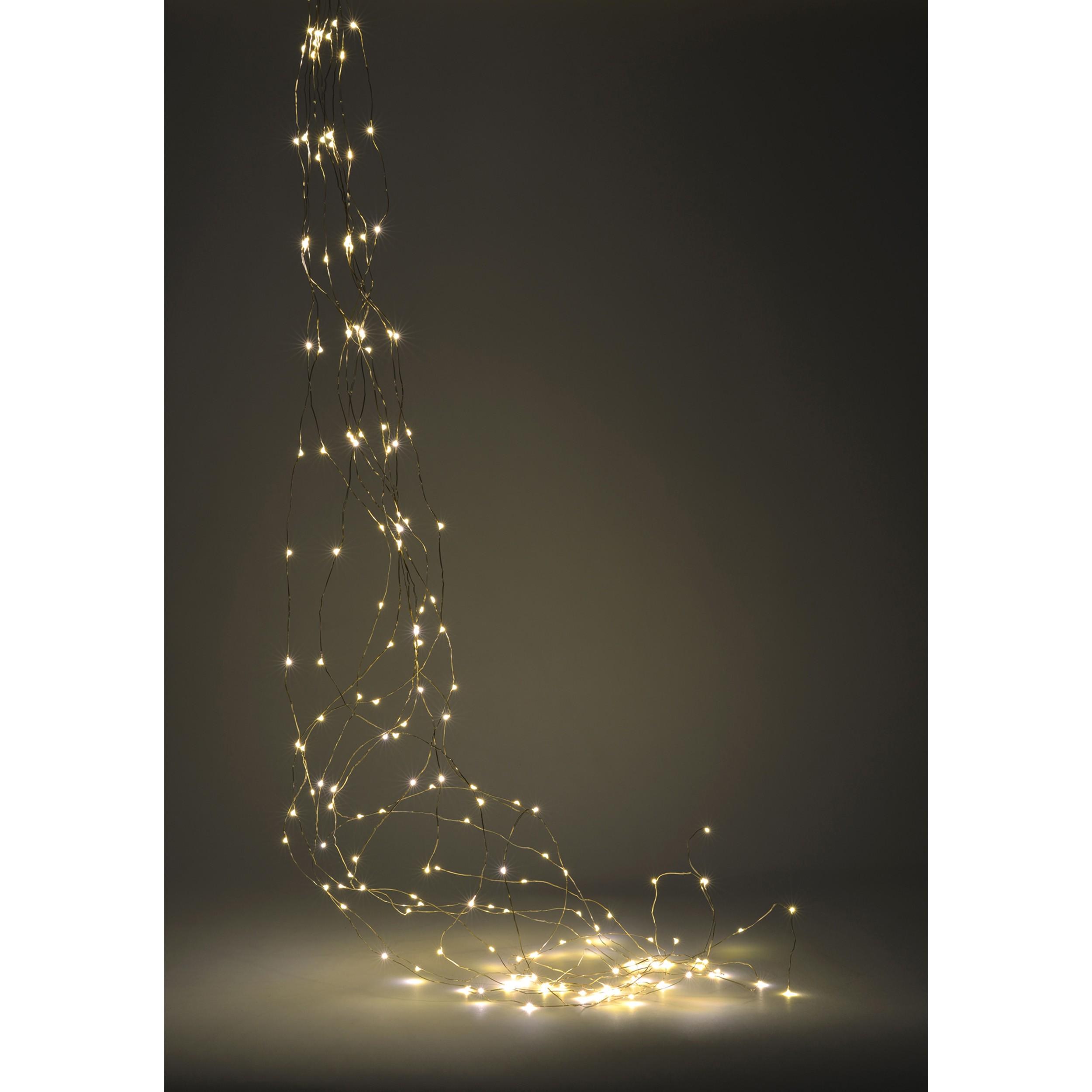 micro lichterbund lichterkette 200 led weihnachten. Black Bedroom Furniture Sets. Home Design Ideas