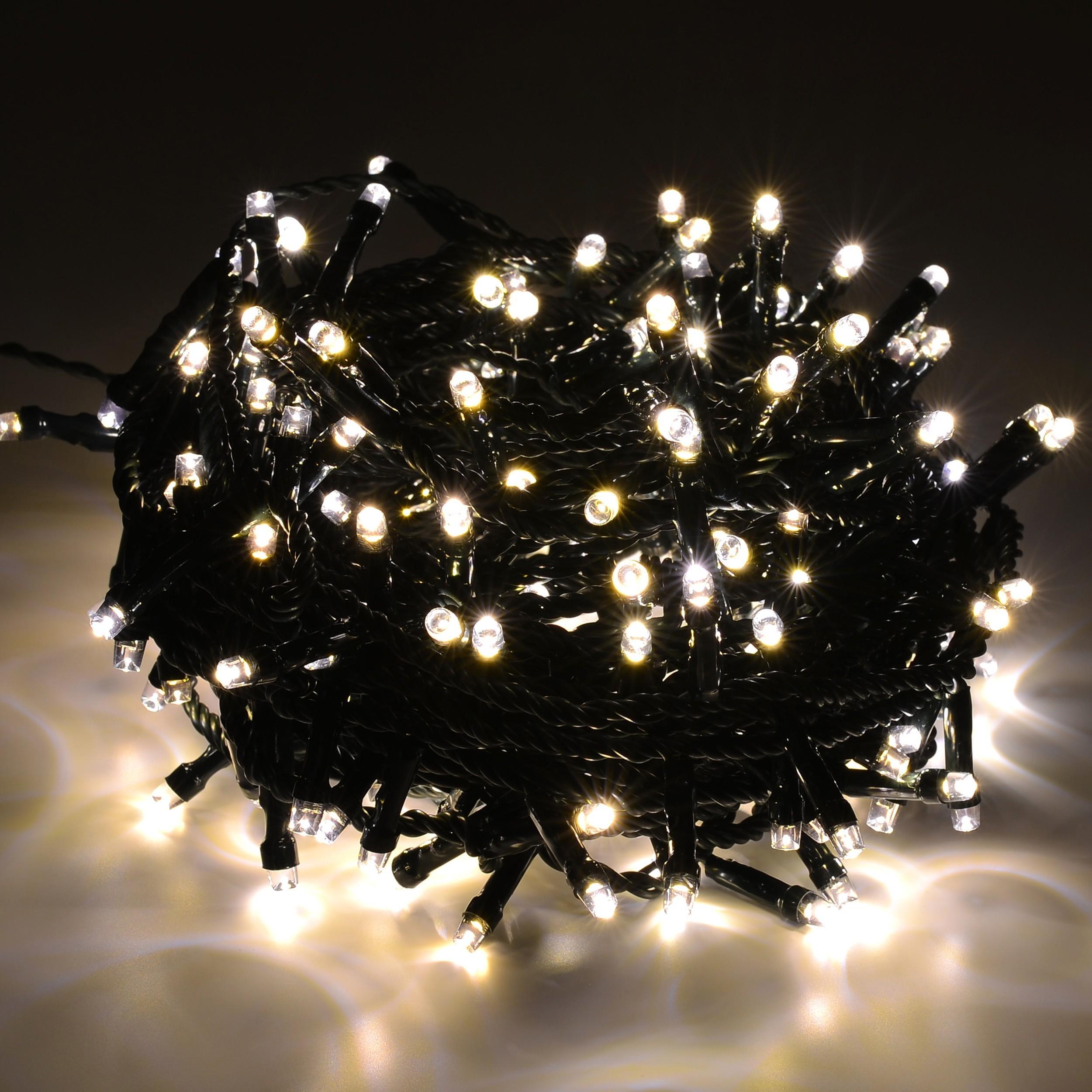 led lichterkette weihnachtsbeleuchtung outdoor warmwei 80. Black Bedroom Furniture Sets. Home Design Ideas
