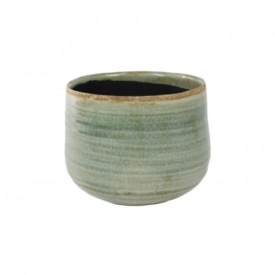 ts indoor blumentopf keramik iris mint 18cm 1