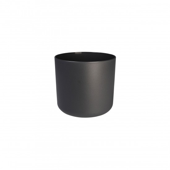 blumentopf b for soft rund d30 cm farbe anthrazit. Black Bedroom Furniture Sets. Home Design Ideas